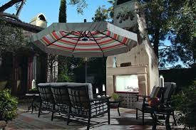 cantilever patio treasure garden 11 cantilever freestanding umbrella leisure living