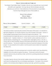 Status Report Format Status Report Examples Project Daily Status Report Template New
