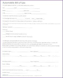 Florida Auto Bill Of Sale Form Free Asset Purchase Agreement Template Free Luxury New Simple