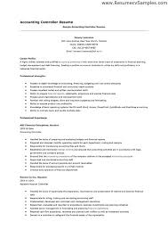 Resume Objective For Accounting Best Junior Accountant Resume No Experience Accounting Skills Resume