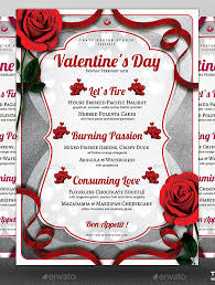 Free Valentine Banquet Flyer Template For Word Sportsbuffpub Com