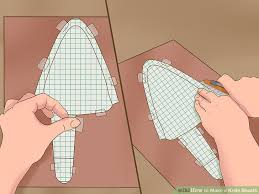 Knife Sheath Patterns Custom How To Make A Knife Sheath With Pictures WikiHow