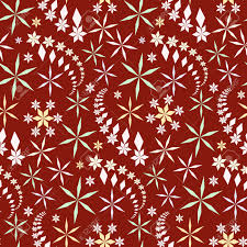 Crystals Seamless Christmas Pattern Snowflake Texture Light