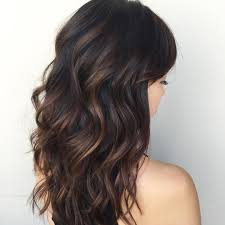 creative dark brown hair color highlights ideas 43