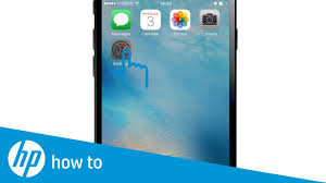 How Do I Print From My Ipad Hp Printers Printing From An Iphone Ipad Or Ipod Touch Hp