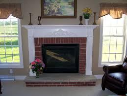 Brick Fireplace Mantel Beautiful Brick Fireplace Mantel Pictures Mericamediaus
