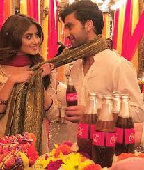 Image result for SAJAL ALY AND AHAD RAZA MIR coca cola
