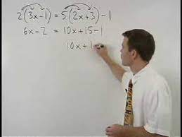solving multi step equations mathhelp