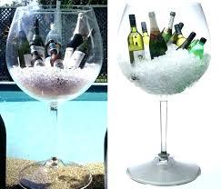 jumbo wine glass oversized decoration giant cooler home interiors catalog large decorative costco gl