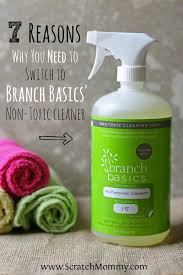 7 Reasons Why You Need To Switch To Branch Basics Non Toxic Cleaner