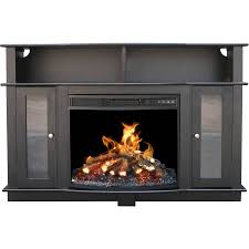 tv stand entertainment center media console shelves for simple black electric fireplace entertainment center