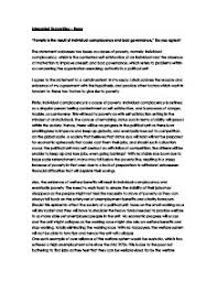 essay on poverty gcse miscellaneous marked by teachers com page 1 zoom in