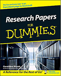 Amazon com  Writing a Dissertation For Dummies eBook  Carrie     Research Papers For Dummies