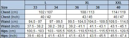 Carhartt Size Chart Mens Size Guide Carhartt Wip Store Copenhagen