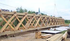 Timber Cantilever Bridge Design Parallel Scissor Truss Google Search Scissor Truss Wood