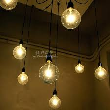 led light bulb chandelier creative led light bulb chandelier lighting simple fashion personality lamp designer clothing