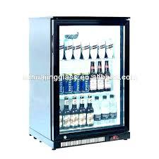 glass door mini fridge refrigerator small india with lock bar