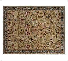 new pottery barn handmade persian eva area rug 5x8 rugs carpets discontinued pottery barn rugs