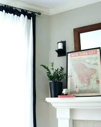 Black And White Bedroom Curtains Black And White Drapes Red And ...