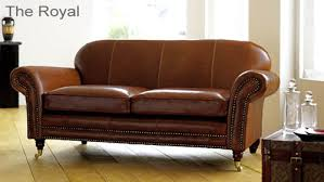 traditional leather sofas. Brilliant Leather The Manhattan Aniline Leather Sofa Inside Traditional Sofas T