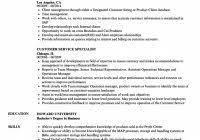 Customer Service Specialist Resume Samples Velvet Jobs