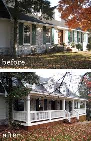 Before and after 7 sensational front porch additions