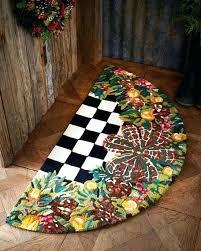 rug poppy field mackenzie childs rugs bath