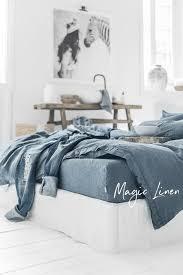 linen duvet cover queen. Grey Blue Linen Duvet Cover Queen U