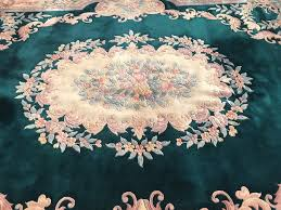 8 10 x 12 chinese aubusson area rug 495