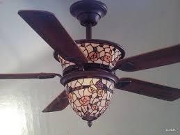 stained glass ceiling fan. Stained Glass Ceiling Fan Gorgeous Fans Hampton Bay Pertaining To Victorian Style 11 D