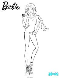 Fashion Barbie Coloring Pages Barbie Colouring Pages Fashion