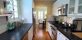 The Small, But Very Stylish Kitchen At Ben Lomond