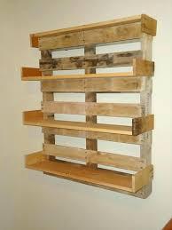 making shelves out of pallets make shelf from pallet wood diy
