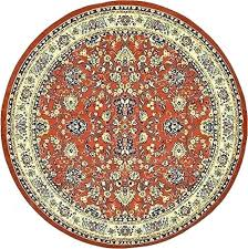 8 foot round area rugs 8 ft round area rugs unique loom collection terracotta 8 ft 8 foot round area rugs