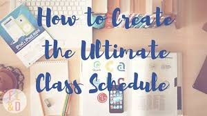 create college class schedule fairy lights dreams creating the ultimate class schedule