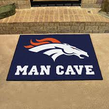 one is your favorite sports team and the other is your man cave it s time to mark your territory with the denver broncos