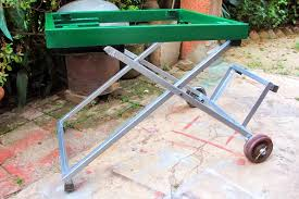 homemade portable table saw stand. extended homemade portable table saw stand h