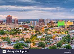 Albuquerque New Mexico Cityscape Stockfotos und -bilder Kaufen - Alamy