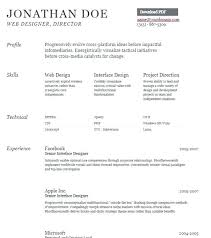 Sample Modern Resume – Resume Web