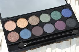 sleek makeup arabian nights smoke shadows eyeshadow palette review giveaway