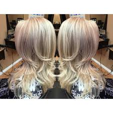 Platinum Blonde Icy Long Hair With