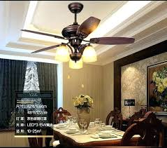 fan chandelier rustic retro lights living room dining bedroom wooden leaf ceiling fans with replacing add