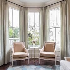 furniture for bay window. Bay Windows With Long Curtains And Furniture For Window H