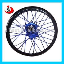 17 yz 125 250 450 wheels for supermoto parts with black rims and