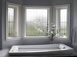 Bathroom  Bathroom Windows Privacy Bathroom Window Treatments For - Decorative glass windows for bathrooms