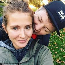 still in the honeymoon period make up free millie mackintosh and her husband professor
