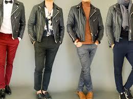 5 ways to style wear a men s leather jacket
