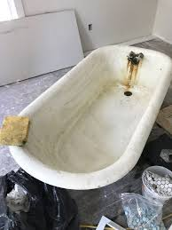 outstanding how to refinish a nasty old clawfoot tub in restoration popular awesome randy ralls author
