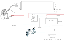 air horn wiring diagram best wiring library Train Horn Relay Wiring Diagram at Viair Train Horn Wiring Diagram