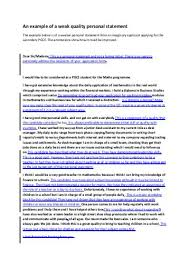 How To Write A Personal Statement For High School Students     BlogQpot